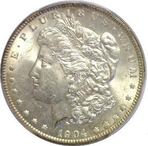 1904 Silver Dollar