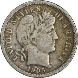 1905 Dime