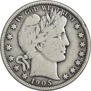 1905 Half Dollar