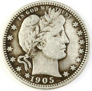 1905 Quarter