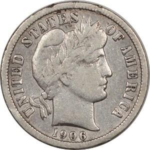 1906 Dime
