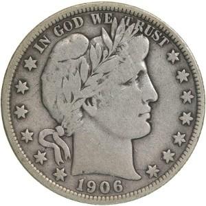 1906 Half Dollar