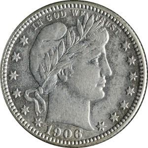1906 Quarter