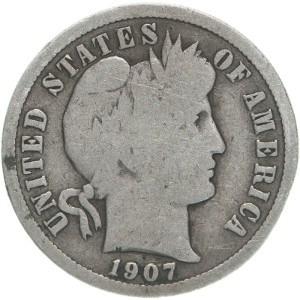 1907 Dime