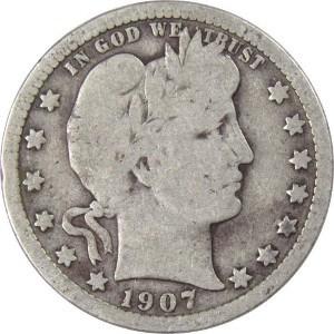 1907 Quarter