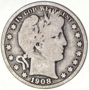 1908 Half Dollar