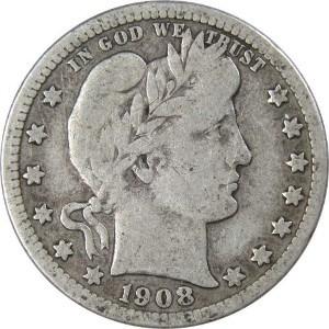 1908 Quarter