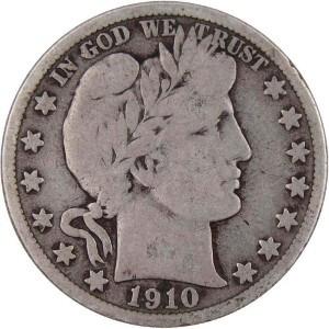 1910 Half Dollar