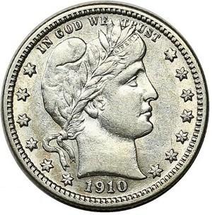 1910 Quarter