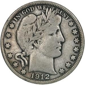 1912 Half Dollar