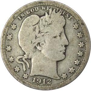 1912 Quarter