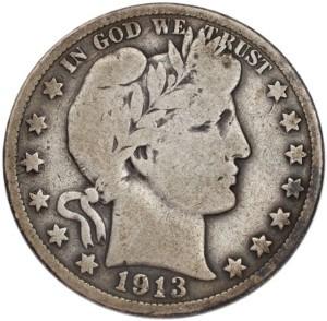 1913 Half Dollar
