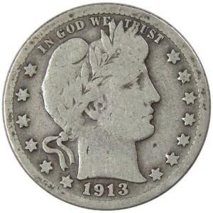 1913 Quarter