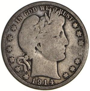 1914 Half Dollar