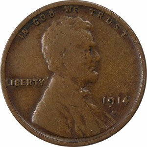 1914 Wheat Penny