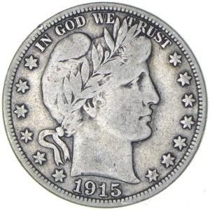 1915 Half Dollar