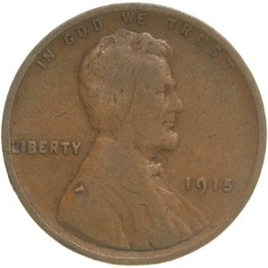 1915 Wheat Penny
