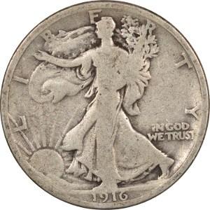 1916 Half Dollar