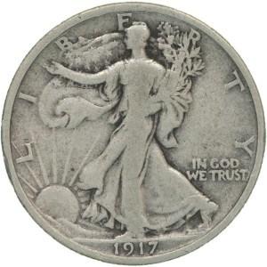 1917 Half Dollar