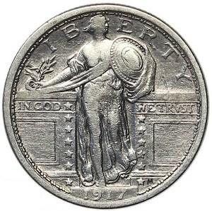 1917 Quarter