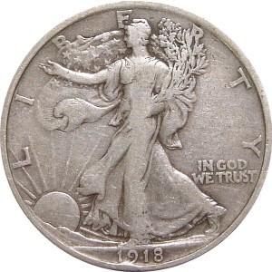 1918 Half Dollar
