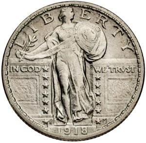 1918 Quarter