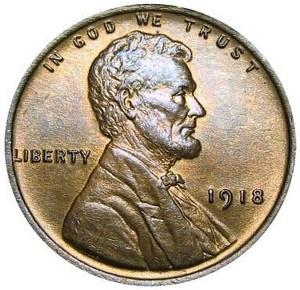 1918 Wheat Penny
