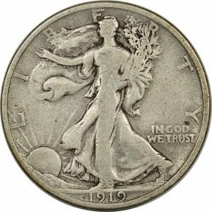 1919 Half Dollar