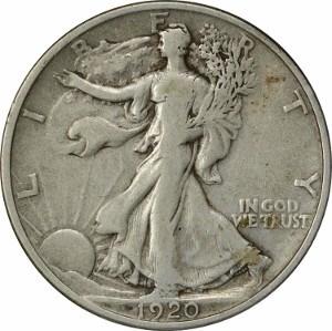 1920 Half Dollar
