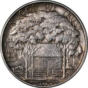 1922 Grant Memorial Half Dollar Reverse