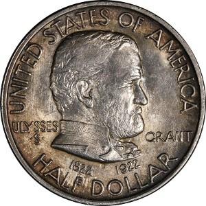 1922 Grant Memorial Half Dollar