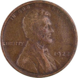 1922 Wheat Penny