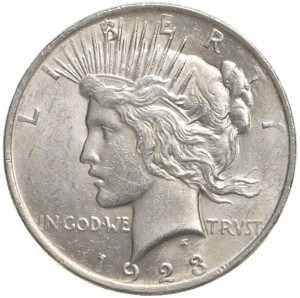 1923 Silver Dollar