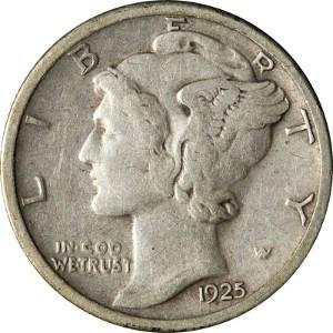 1925 Dime