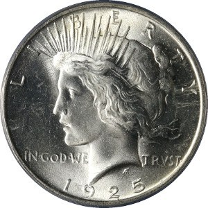 1925 Silver Dollar