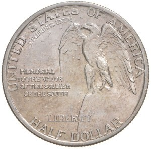 1925 Stone Mountain Half Dollar Reverse