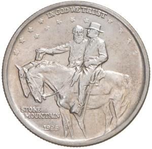 1925 Stone Mountain Half Dollar