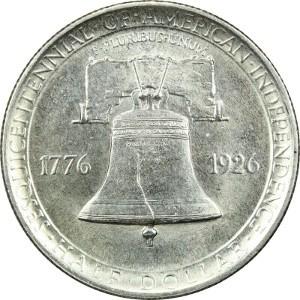 1926 Sesquicentennial half dollar Reverse
