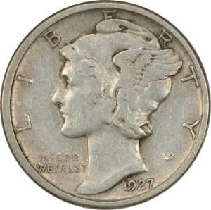 1927 dime