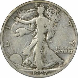 1927 Half Dollar