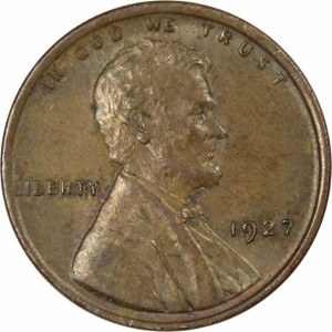 1927 Wheat Penny