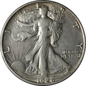 1928 Half Dollar