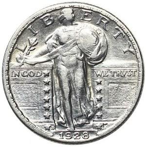 1928 Quarter