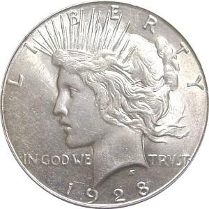1928 Silver Dollar