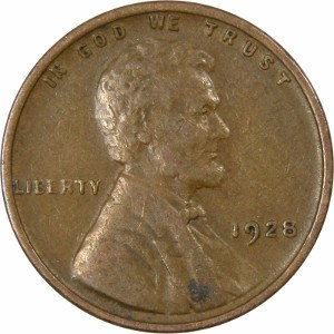 1928 Wheat Penny