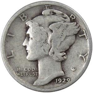 1929 Dime