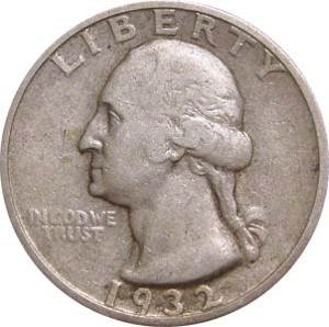 1932 Quarter