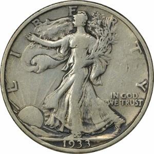 1933 Half Dollar