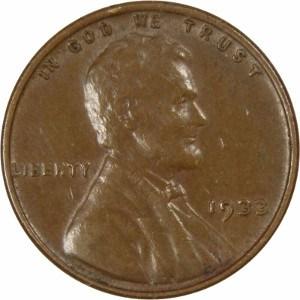 1933 Wheat Penny