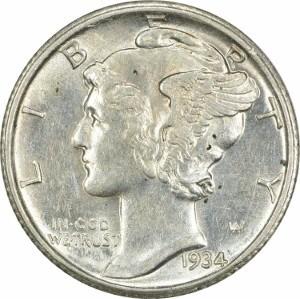 1934 Dime